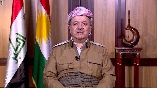 Masoud_Barzani_war_no_solution.JPG