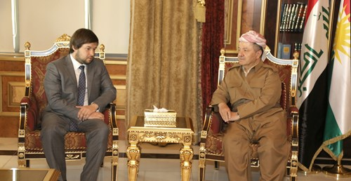 President Barzani  with  Russia's oll Deputy Minister 1