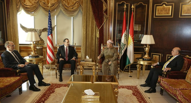 President Barzani with Breet Mcgurk 13-9
