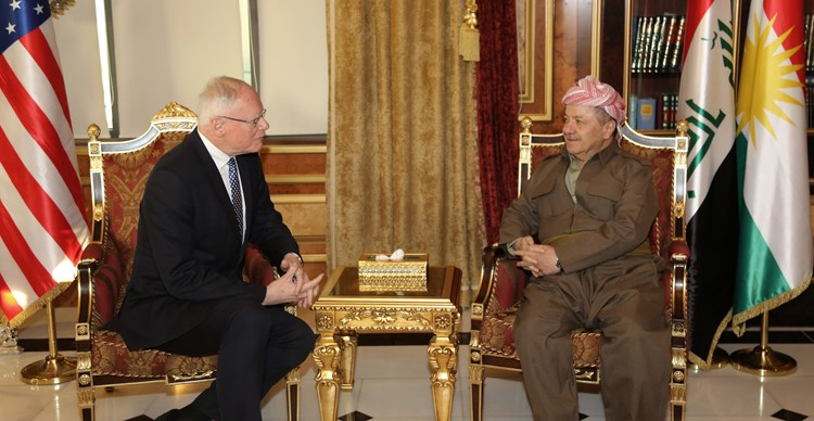 President Barzani Receives a United States Government Delegation 7g2a7280