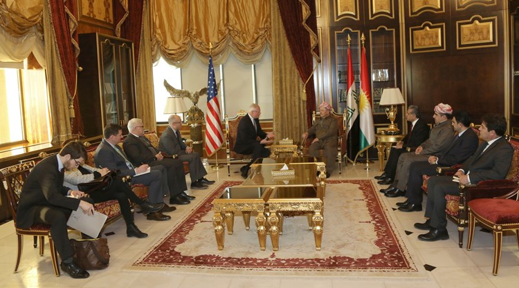 President Barzani Receives a United States Government Delegation 7g2a7293